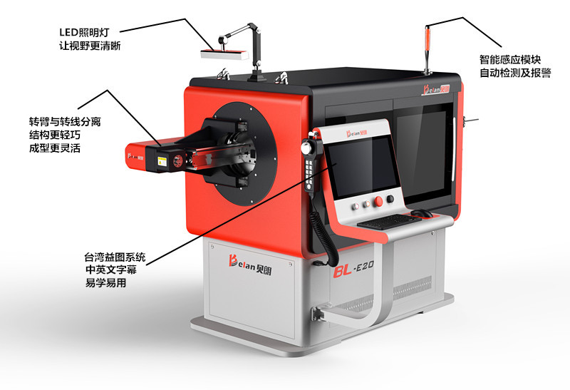 转头线材折弯机BL-3D-51000