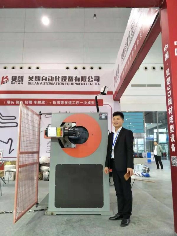 贝朗自动化在武汉展会现场图二