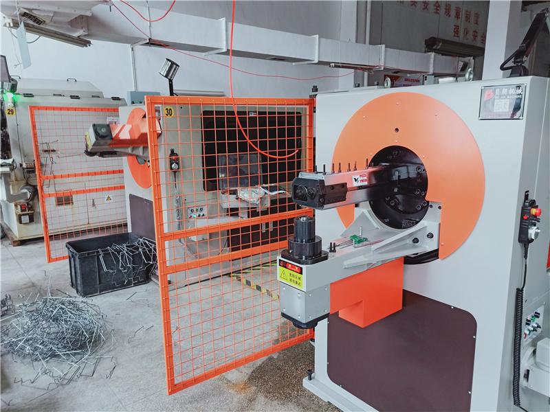 苏州客户fu购钢线数控折弯机到厂啦
